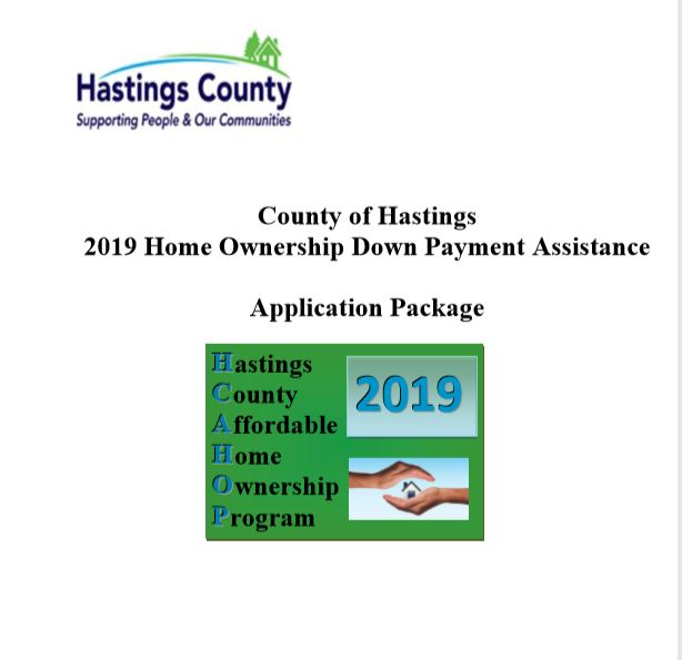 2019 Hastings County Down Payment Assistance progr...